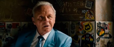El gran actor galés Anthony Hopkins, en