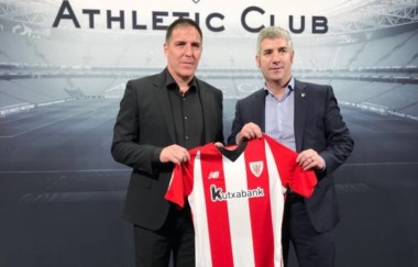 El Athletic Club contrató a Eduardo Berizzo hasta el 30 de junio de 2019.